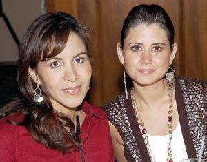 Cecilia Valencia de González y Ana Sofía Méndez de De la Garza.