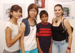 Roble Ramos, Na-Mi, Claudia Lozano y Gabino Reyes.