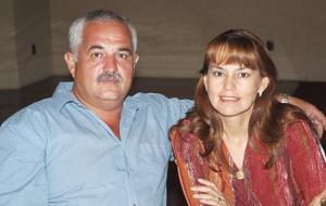 José Luis Torre y Olga Leticia Acevedo.