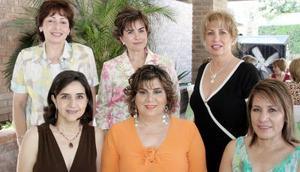 Josefina Rodríguez Marivi Murra, Silvia Jaidar, Josefina Delgado, Cecilia Pérez y Cecilia Ramírez.