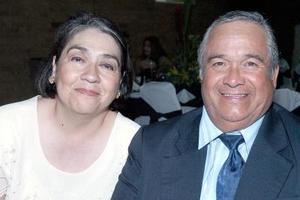 <b>20 de septiembre 2005</b><p> María Isabel Ibarra y Jesús Ibarra.