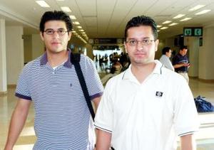 Carlos Otero y Erick Gómez, viajaron a México, D.F.
