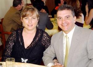 Bárbara de Garza y Gustavo Garza