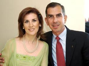 Pily de Jiménez y Darío Jiménez.