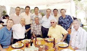 Roberto Natera, Luis Ávila, Alberto Jacamán, José Villarreal, Alejandro Romero, Manuel Nahle, Jaime Allegre, Eduardo Ibargüengoitia, Gabriel Aguilar y Javier Acosta.