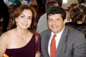 <b>21 de septiembre 2005</b><p> Teresa Muñoz de Díaz y Aldo Díaz.