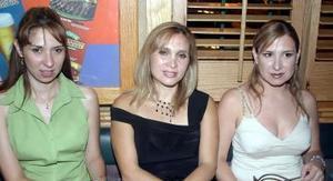 Cristina Gurrola, Lesca Ornelas y Mónica Campillo.