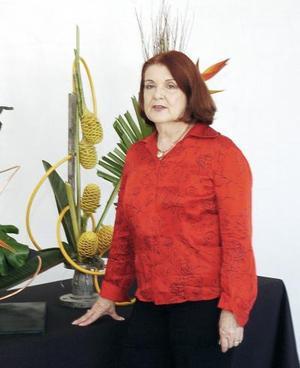 Rosita Granados impartió una plática acerca de técnicas de diseño.