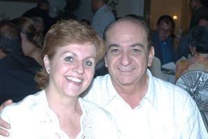 Ana Isabel López de Mexsen y Samir Mexsen.