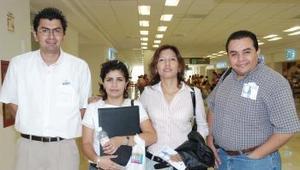 <B>25 de septiembre 2005</b><p> Olga Alonso, Sandra Caballero, Francisco y Jesús Sánchez viajaron al DF y a Mazatlán.