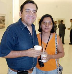 Jaime Sifuentes y Nadia Contreras.