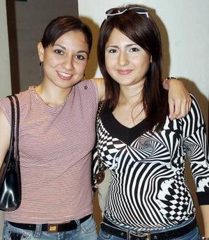 Mayela Saad y Ariana  Cabral.