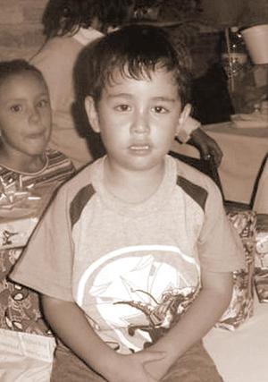 Gerardo Landeros Ávalos en su fiesta de cumpleaños.