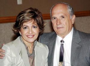 Alicia de Cárdenas y José Cárdenas