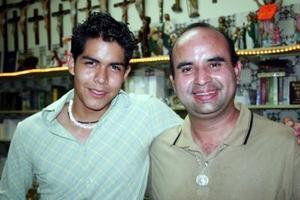 Antonio Ovalle y Juan Carlos Taboada