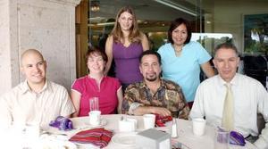 Astrid Martínez, Nora Rubio, Lora Head, Jesús Cuéllar y Malhlouf Ouyed.