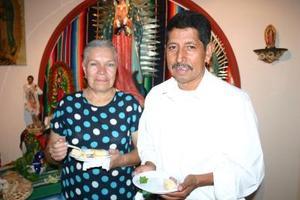 Eduardo Mendoza y Edelina de Mendoza