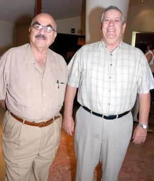 Jesús Villarreal y Javier Iriarte.