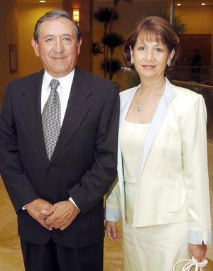 Jesús y Ángeles de Lara.