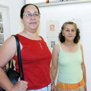 Rosy y Soledad Gordillo.