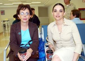 Alicia Garibay viajó al DF, la despidió Alicia Guerrero.
