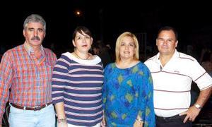 Guillermo Félix, Mónica Cueto de Félix, María Luz Cabrero y Raúl González.