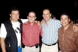 Mario Segura Montaña, Miguel ángel Murra, Víctor González y Salvador Galindo