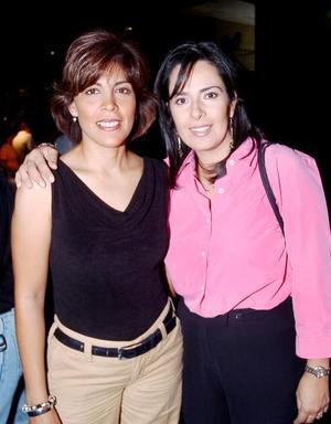 Silvia Espinoza de Ávalos e Irene Ochoa de Lugo.