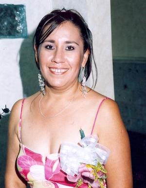 Gabriela Guerrero Rangel, en la despedida de soltera que le ofrecieron.
