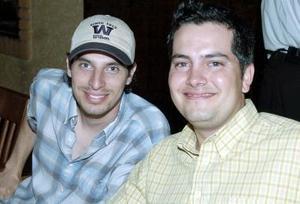 Antonio y Carlos Fahur.