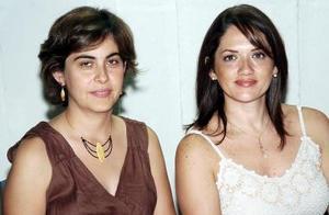 Angelina Verano y Yadira Cárdenas.