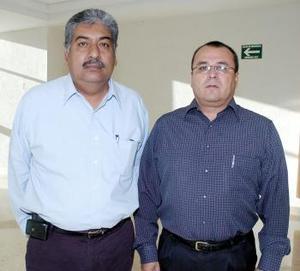 Juan Manuel Candelas y José Antonio Flores viajaron al DF.