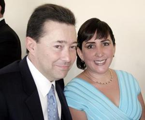 Javier Quintanilla y Ana Isabel de Quintanilla.