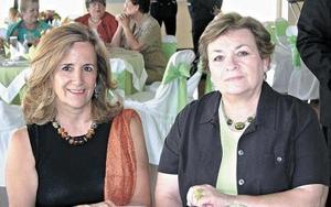 Magda Madero y Rosalía de Gamboa.