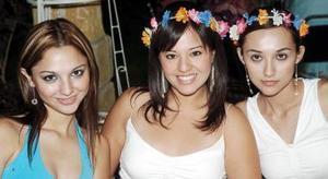 Daniella López, Kitty Carmona y Ana de Aguinaga.