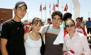 Genaro Ontiveros, Marian Hidrogo, Julio González y Luisa Fernández.