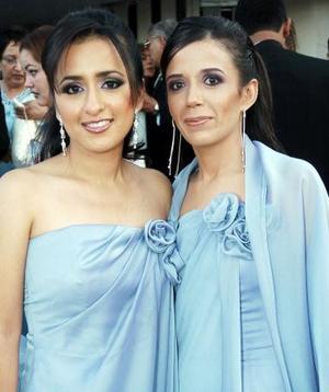 Karla Piña y Vannia Gómez.