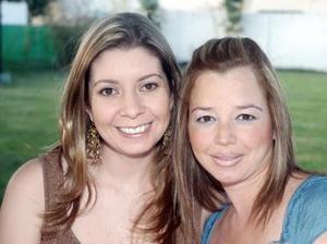 Katia Ruiz y Paty de Soler.