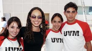 Marimar, Rocío, Vanessa y Renato.
