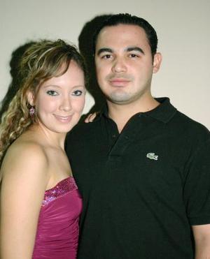Jaquie Montes y Jesús Villarreal.