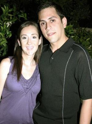 Mónica Alarcón y Omar Cruz.