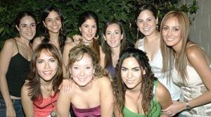 Paola pámanes, Susy hernández, Cecy Murra, Gaby Díaz de León, Any Ochoa, Ale Sotero, Mary Alarcón, Jaquie Montes y Claudia Torres.