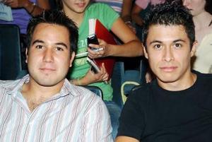 Gibrán Gamboa y Víctor Castañeda.