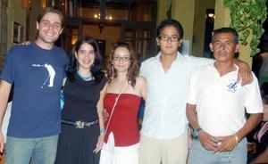 Juan Manuel Poblano, Ángel Ramírez, Loly Helderland, Idoia Leal y Arnaud Koppe.