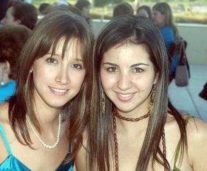Olivia Ramos y Tania Trasfí.