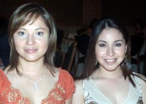 Perla de Anda y Karla Reyes.