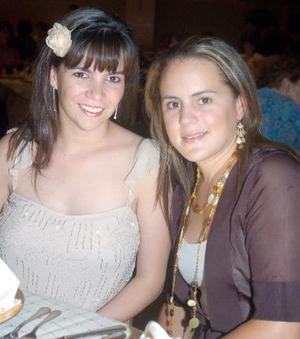 Yasmín Gutiérrez y Brenda Baille.