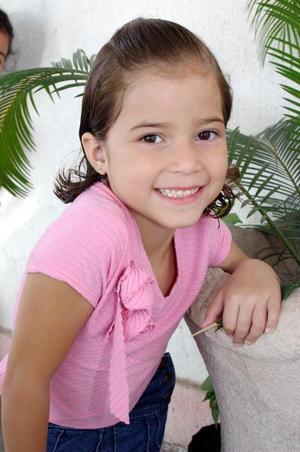 Cristina López Sotomayor cumplió seis años y fue festejada con una fiesta.