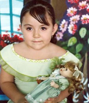 Grisel Stefanía Hernández Juárez celebró sus cuatro años de vida.