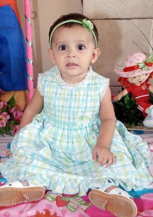 La pequeña Luis Fernanda Campos Montañez cumplió un años de vida en días pasados.